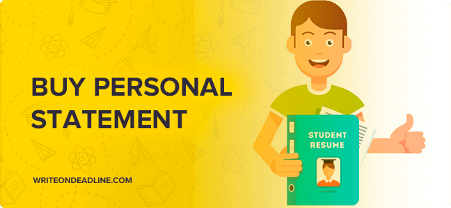 Buy personal statements