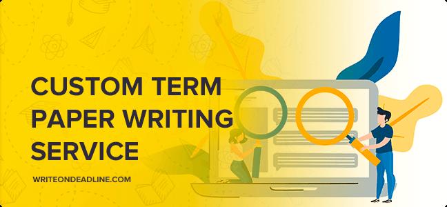 Custom term papers essays
