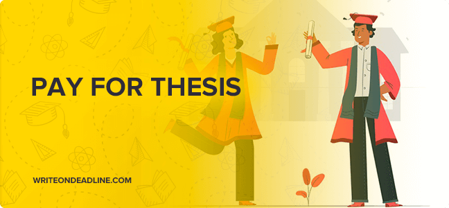 PAY FOR THESIS