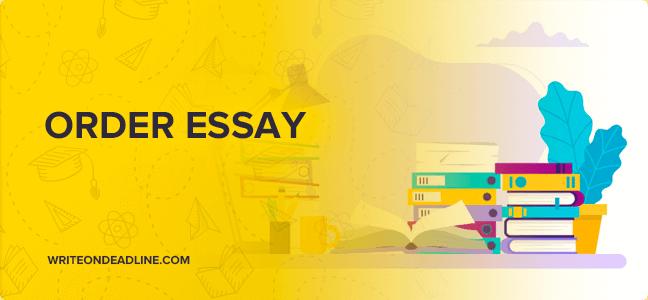 Order essays