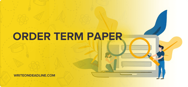 Order term papers online
